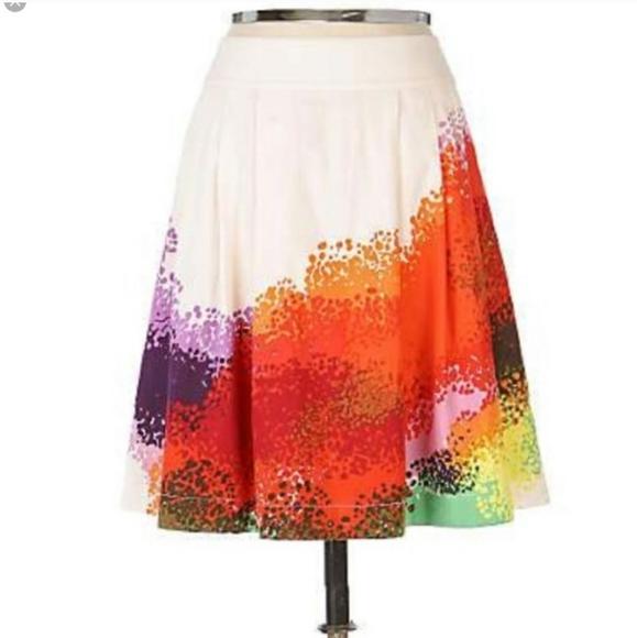 Anthropologie Dresses & Skirts - Anthropologie Cordelia moss grotto skirt